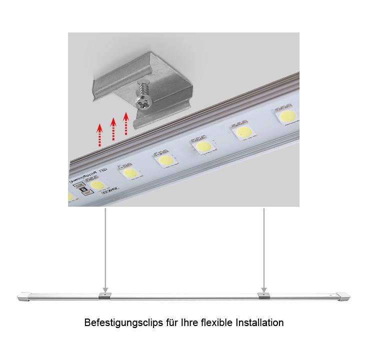 Nett Led Lichtleiste Verdrahtung Anweisungen Bilder - Elektrische ...