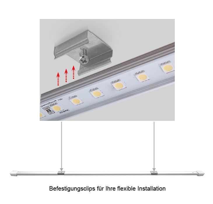 Atemberaubend Wie Man Eine Lichtleiste Montiert Bilder - Elektrische ...