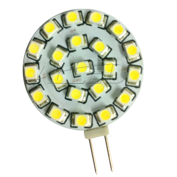 24V Cool White LED G4 Bulb Side Pin 21pcs