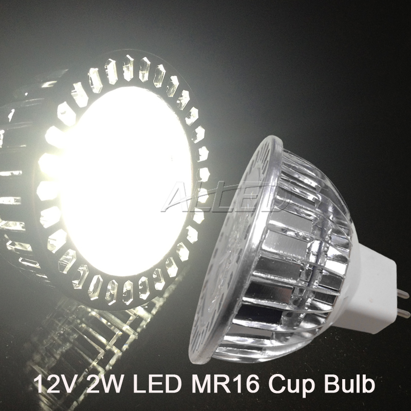 2W MR16 LED Replacement Bulb-Cool White