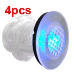 4x12V Blue Color LED Courtesy Deck Light