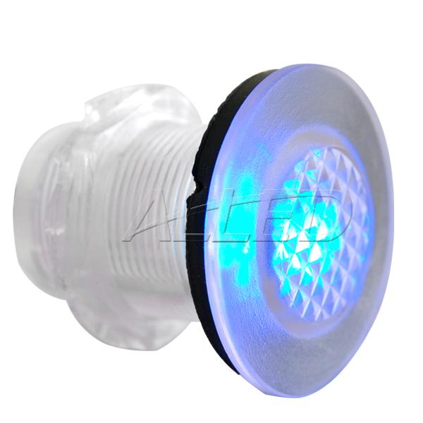 4 x LED Lamp Courtesy Lights Live Bait Tank Light Outdoor Waterproof Light Blue