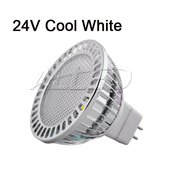 24V 3.7W LED MR16 Light Globe Cool White