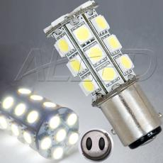 BA15D 1157 27-SMD-LED Replacement Bulb Double Connector Off Pin