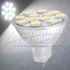 12V MR11 12-SMD-LED Replacement Bulb Cool White