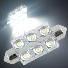 42mm Festoon 6-SMD-LED Replacement Bulb