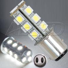 BA15D 1157 18-SMD-LED Replacement Bulb Off Pin