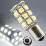 BA15S 27-SMD-LED Replacement Bulb Single Connector Parallel Pin