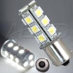 BA15S 18-SMD-LED Replacement Bulb Single Connector Parallel Pin