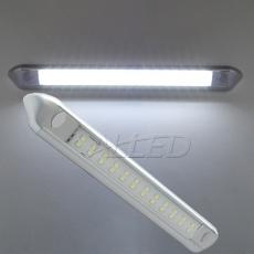 12V 255mm LED Awning Light Sliver Shell