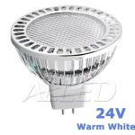 24V Warm White 3.7W LED MR16 Light Globe