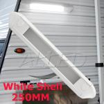 250mm white Shell LED Awning Light (with PC lens cover)