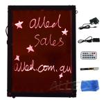 30*40 LED Flashing Writing Advertising Board Remote control