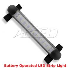 Battery-operated Velcro Back Portable Exterior/Interior LED Bimini Strip Light camping light