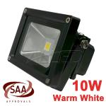 10W 240V Warm White LED Flood Light