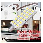T10 DC 12V LED Wedge Light Pure White caravan/camper trailer/brake light/Truck