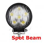 12V 24V 18W Spot Beam LED Work 4X4 Light