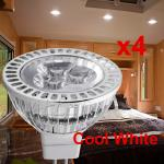 4X2W MR16 LED Replacement Bulb-Cool White