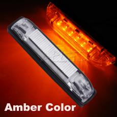 12V 100MM Amber Colour LED Hard Strip/Stair/Courtesy Light