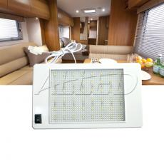 12V Rectangle Ceiling Cabin Down Light With Switch Caravan/Motorhome/Camper/RV