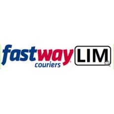 FCLL Fastway Express Delivery Lime label