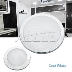 "8.5""+5"" Cool White Silver Shell LED Panel Ceiling Cabin Light No Switch"