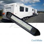 12V DC Waterproof Black Shell Cool White 250MM LED Awning Light