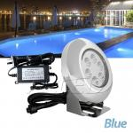 Blue Swimming Pool Light Spa Underwater Spot Lighting