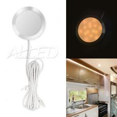 12v Warm White LED Cabinet Dome Light Home/Kitchen/cupboard