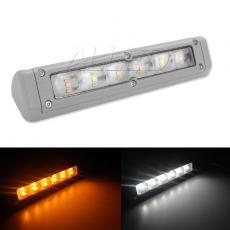 Dual Colour 200mm Gray LED Awning Light Heavy Duty Rigid Annex Lamp