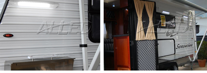 Awning Light For Caravan Activitiy Illumination