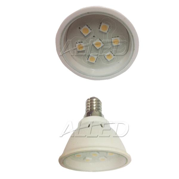 240V 2W LED E14 Globe Warm White