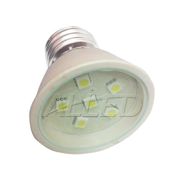 240V 2W LED E27 Cool White Globe