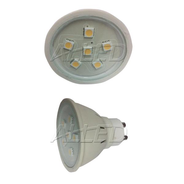 240V 2W LED GU10 Globe Warm White