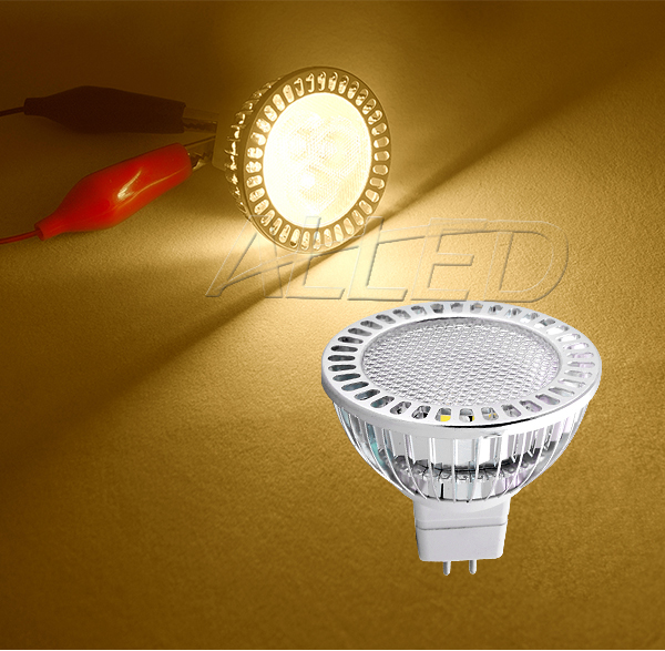 12V 3.8W LED MR16 Globe Warm White