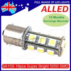 12V LED 1157 BA15D Globe...