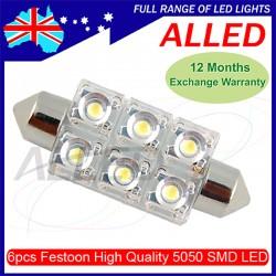 12V 42mm 6SMD LED Festoon...