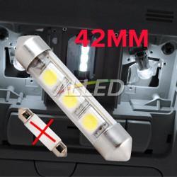 12V 42mm LED Festoon Bulb...