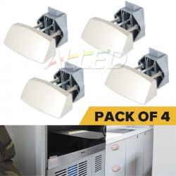 4X Zinc Alloy RV Push Latch...