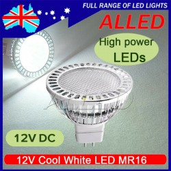 12V 4W MR16 LED Cool White...