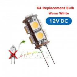 12V Tower Type G4 9-SMD-LED...