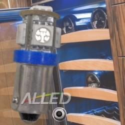 12V LED BA9S Bulb 5SMD Car...
