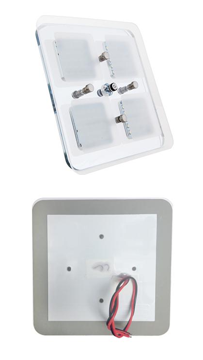 12v led deckenlampe warmwei blau wohnmobil wohnwagen. Black Bedroom Furniture Sets. Home Design Ideas