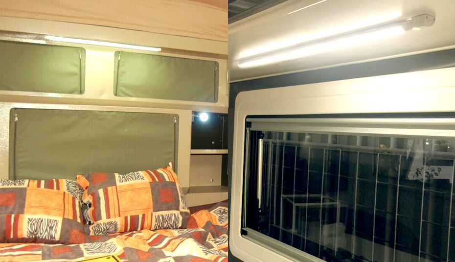 warmwei 12v led lichtleiste wandlampe deckenleuchte. Black Bedroom Furniture Sets. Home Design Ideas