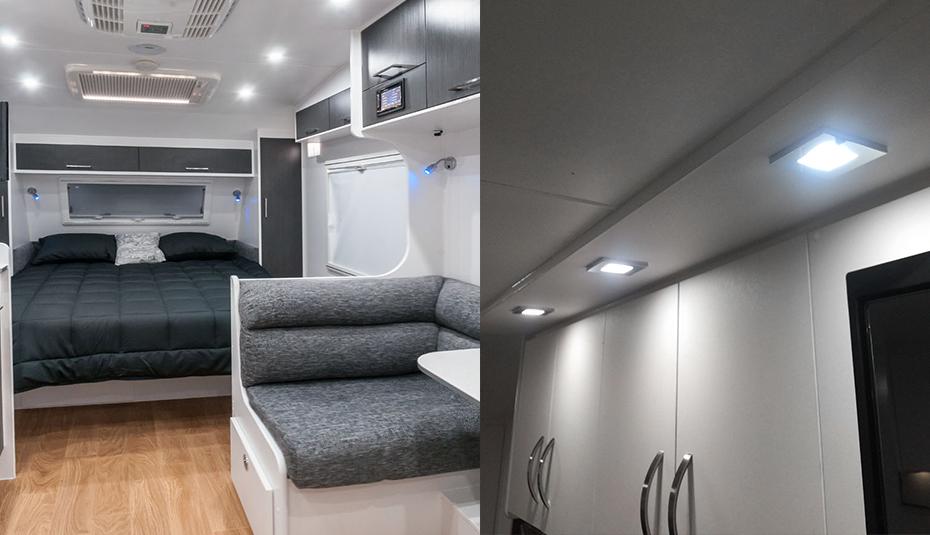 4 st ck kaltwei 12v led einbaustrahler deckenlampe. Black Bedroom Furniture Sets. Home Design Ideas