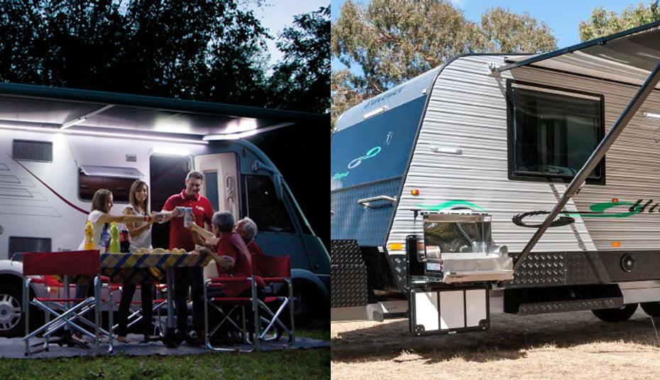12v led lichtleiste wasserdichte wohnwagen markisenleuchte au enlampen 350lumens ebay. Black Bedroom Furniture Sets. Home Design Ideas